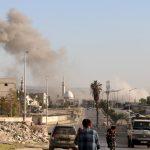 سقوط قذائف على القنصلية الروسية في حلب دون إصابات