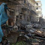 قصف مستشفى تدعمه «منظمة إنقاذ الطفولة» في إدلب