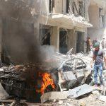 عشرات الضحايا في هجوم صاروخي على مستشفى بحلب