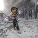 فيديو| الإرهاب يعيد صفوفه ويقصف حلب بهجمات متواصلة