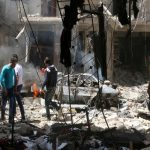 نزوح عشرات السكان في حلب والتهدئة سارية في ريف دمشق واللاذقية