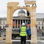 قبل عودته لتدمر.. لندن ترفع «قوس النصر» مرة أخرى