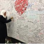 رئيس المجلس الوطني الإماراتي تكتب كلمة مواساة من موقع تفجيرات بروكسل