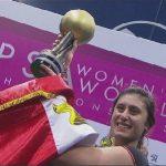 فيديو| المصرية نور الشربيني تفوز ببطولة العالم للإسكواش