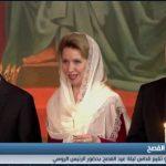 فيديو  كاتدرائية موسكو تحتفل بعيد القيامة في حضور الرئيس بوتين