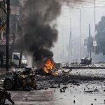 انفجار سيارة مفخخة في دمشق