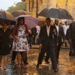 صور| كوبا وهيروشيما وجامعة القاهرة.. أبرز زيارات أوباما التاريخية