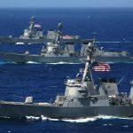 البحرية الأمريكية تصادر أجزاء صواريخ إيرانية في بحر العرب
