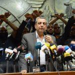 تأجيل محاكمة نقيب الصحفيين المصري للأسبوع المقبل.. والدفاع يحذر من تدهور صحة صحفي محبوس