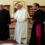 فيديو  شيخ الأزهر والبابا يعلنا عقد مؤتمر دولي للسلام