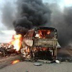 ارتفاع عدد ضحايا حادث التصادم في أفغانستان إلى 73 قتيلا
