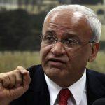صائب عريقات يطالب المجتمع الدولي بفرض عقوبات على إسرائيل