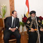 البابا لوزير الداخلية المصري: «أنتم في مواجهة مع قوى الشر»