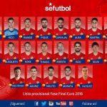تشكيلة منتخب إسبانيا ليورو 2016.. بوسكي يستبعد كوستا وماتا