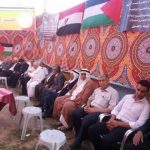 إقامة سرادق عزاء في قطاع غزة لضحايا الطائرة المصرية المنكوبة