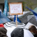 فيديو| مظاهرة للشرطة الفرنسية للتنديد بحملة العدائية ضدها