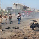 مقتل 4 أشخاص بهجوم انتحاري قرب معسكر لقوات الأمن في عدن