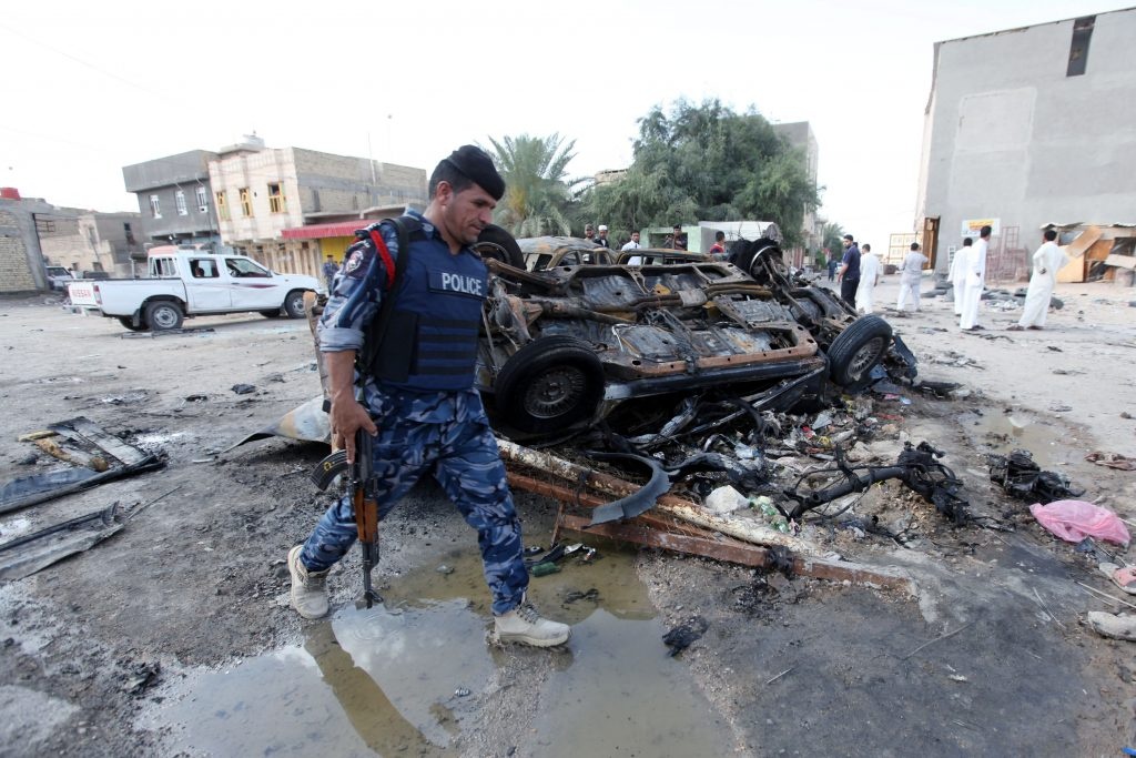 17 قتيلا وجريحا في تفجير طريق «بغداد-كركوك» بالعراق   قناة الغد