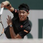 الياباني نيشيكوري يتقدم في بطولة فرنسا للتنس