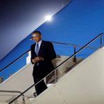 أوباما يغادر إلى وارسو لحضور قمة الحلف الأطلسي