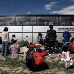 استمرار إجلاء المهاجرين من إيدوميني شمالي اليونان