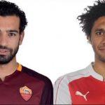 صلاح والنني يتقدمان 6 لاعبين من الخارج في تشكيلة مصر