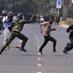 مظاهرات كينيا.. مقتل شخص في اشتباكات بين الشرطة والمحتجين
