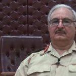 فيديو| حفتر: لن نعمل مع حكومة الوفاق قبل حل الميلشيات