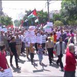 فيديو مسيرات لعمال غزة تطالب بتحسين أوضاعهم المعيشية