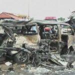 فيديو| عشرات القتلى في سبع تفجيرات بشمال سوريا