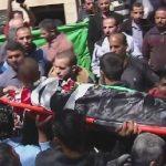 فيديو| تشييع جثمان الشهيد أحمد شحادة في مخيم قلنديا