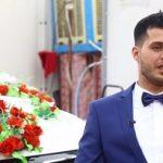 فيديو  في بغداد.. زفاف النازحين تحت سقف خيمة