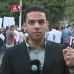 فيديو  مسيرة لتأبين ضحايا الطائرة المصرية تنطلق من الأوبرا