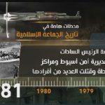 فيديو|أبرزها اغتيال السادات.. محطات مهمة في تاريخ الجماعة الإسلامية