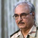حفتر يتهم قطر بدعم الإرهابيين في ليبيا