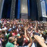 «مش هنأجل مش هنعيد».. طلاب الثانوية العامة يواصلون التظاهرفي مصر