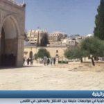 فيديو| المستوطنون يجددون اقتحام باحات الأقصى في العشر الأواخر من رمضان