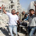 25 قتيلا مدنيا في غارات على الرقة السورية بينهم 6 أطفال