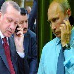 بوتين وإردوغان اتفقا في اتصال هاتفي على إحياء العلاقات الثنائية