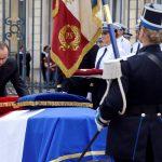 فرنسا تشيع جثماني شرطيين قتلهما متشدد بايع «داعش»