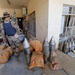 صور  القوات العراقية تكتشف مصنع قنابل لـ«داعش» بالفلوجة