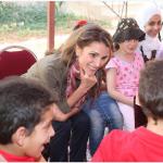 رانيا العبد الله.. نشاط ملحوظ ومشروعات لا تنتهي لخدمة المرأة والتعليم