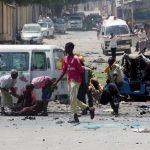مقتل 22 على الأقل في تفجير سيارتين ملغومتين بالعاصمة الصومالية