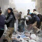 ارتفاع عدد ضحايا غارات روسيا على دير الزور السورية لـ82