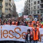 الآلاف يتظاهرون في برشلونة للمطالبة باستقبال المهاجرين
