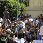 مصر.. قوات الأمن تفرق مسيرة طلاب الثانوية العامة بالغاز المسيل للدموع