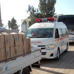 المساعدات الألمانية تصل إلى آخر مدينتين محاصرتين في سوريا