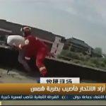 فيديو| حاول الانتحار فأنقذته «ضربة شمس»