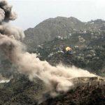 مقاتلات التحالف العربي تدك مواقع الحوثيين في مفرق المخا