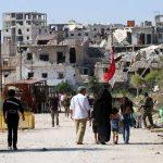 فرار عشرات العائلات عبر الممرات الإنسانية في حلب